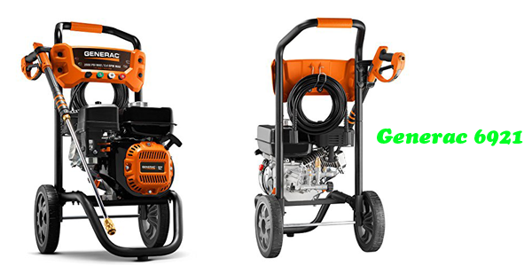 Generac 6921 (2,500 PSI) Review - Pressure Washer Reviews