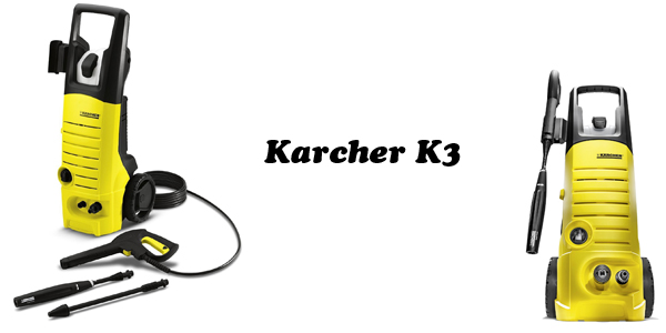 KarcherK3 electric pressure washer