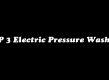 top 3 electric pressure washers
