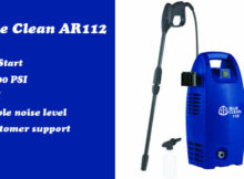 AR Blue Clean AR112 pressure washer