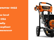 Generac 6922 gas pressure washer