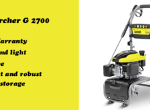Karcher G pressure washer