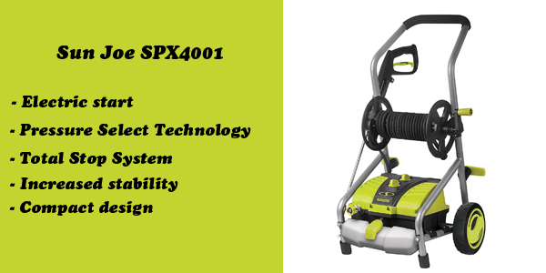 Sun Joe SPX4001 electric power washer