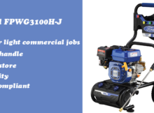 Ford FPWG3100H-J gas pressure washer