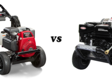 PowerBoss 20649 pressure washer vs Simpson PS3228-S pressure washer