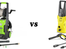 GreenWorks GPW1702 vs Karcher K2 Plus