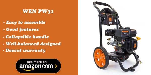 WEN PW31 gas powered pressure washer